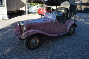 1952 MG TD Convertible SOLD