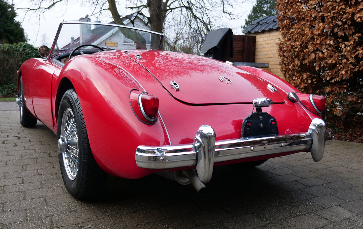 MGA Roadster 1958 SOLD (picture 4 of 6)