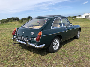 MGB GT 1972 Automatic with power steering. For Sale