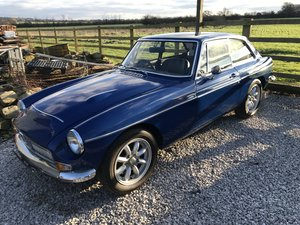 1969 MGc GT Manual with Overdrive For Sale