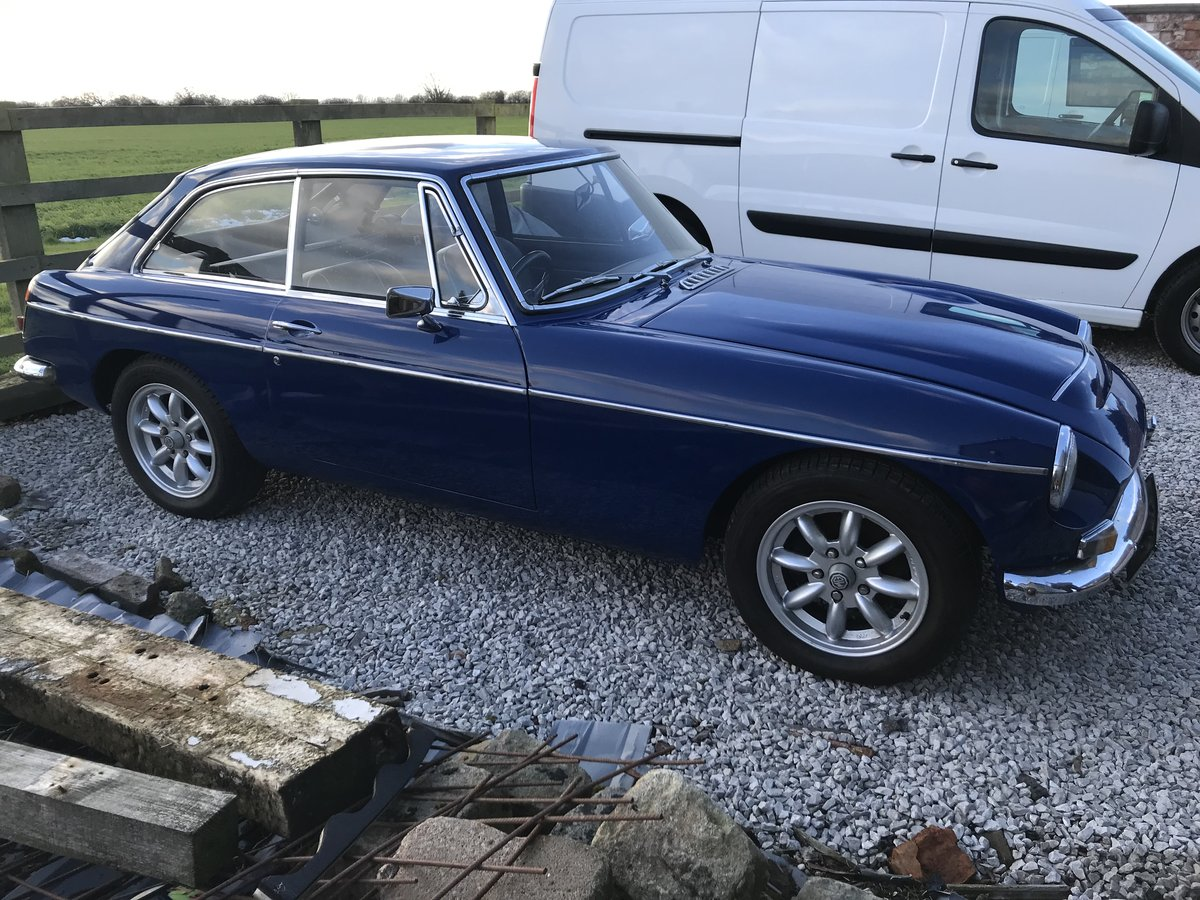 1969 MGc GT Manual with Overdrive For Sale (picture 2 of 6)