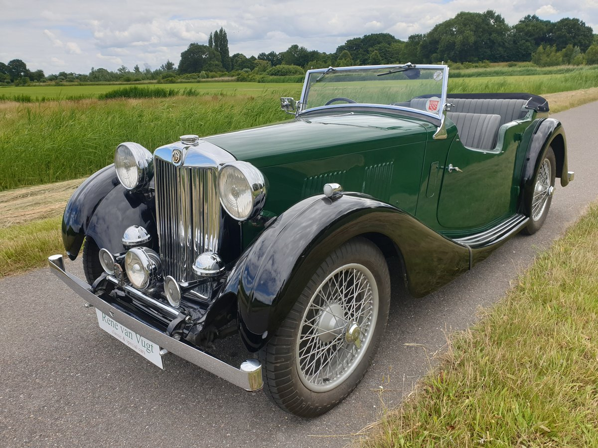 1937 MG VA Tourer   SOLD (picture 1 of 6)