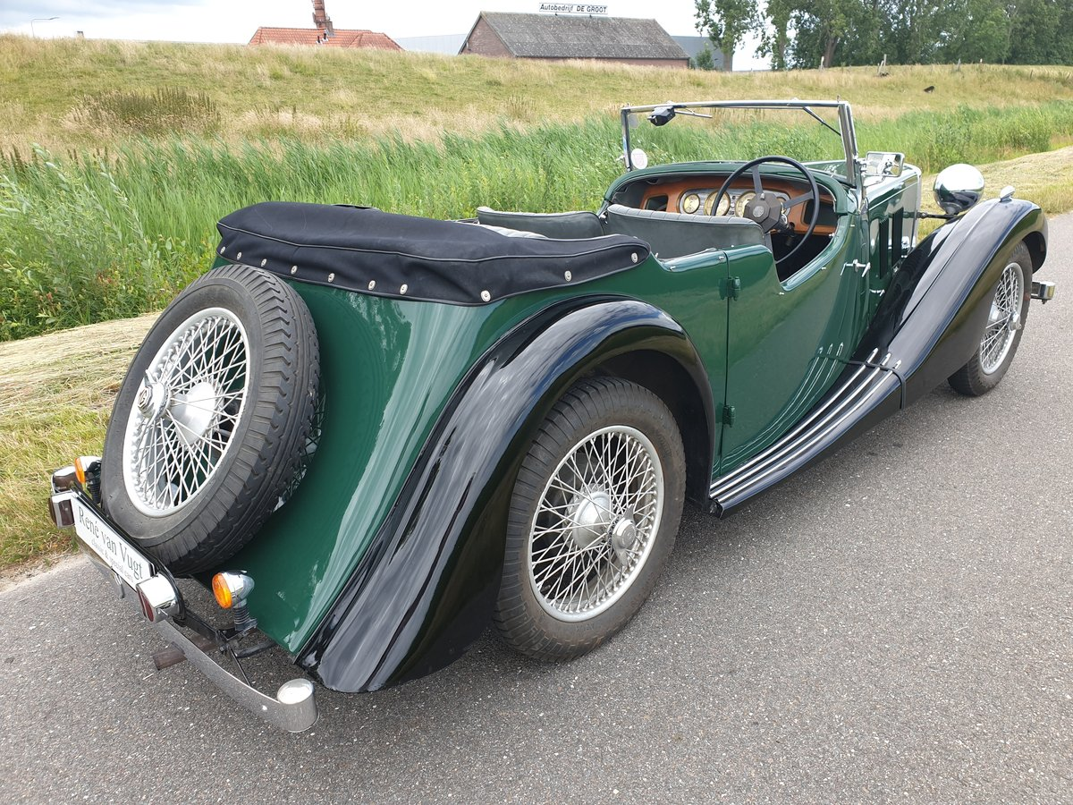 1937 MG VA Tourer   SOLD (picture 2 of 6)
