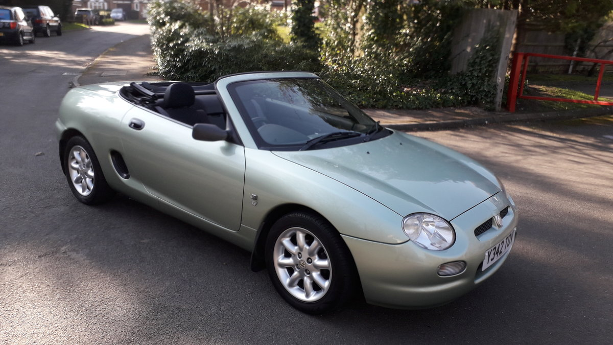 2001 MGF For Sale (picture 1 of 6)