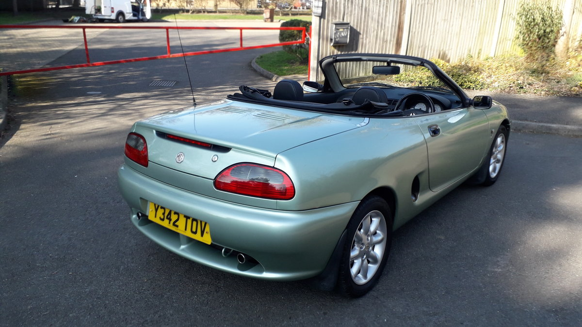 2001 MGF For Sale (picture 3 of 6)