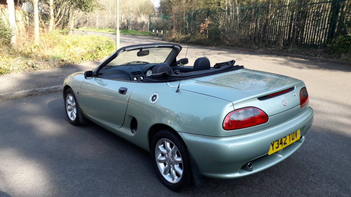2001 MGF For Sale (picture 6 of 6)