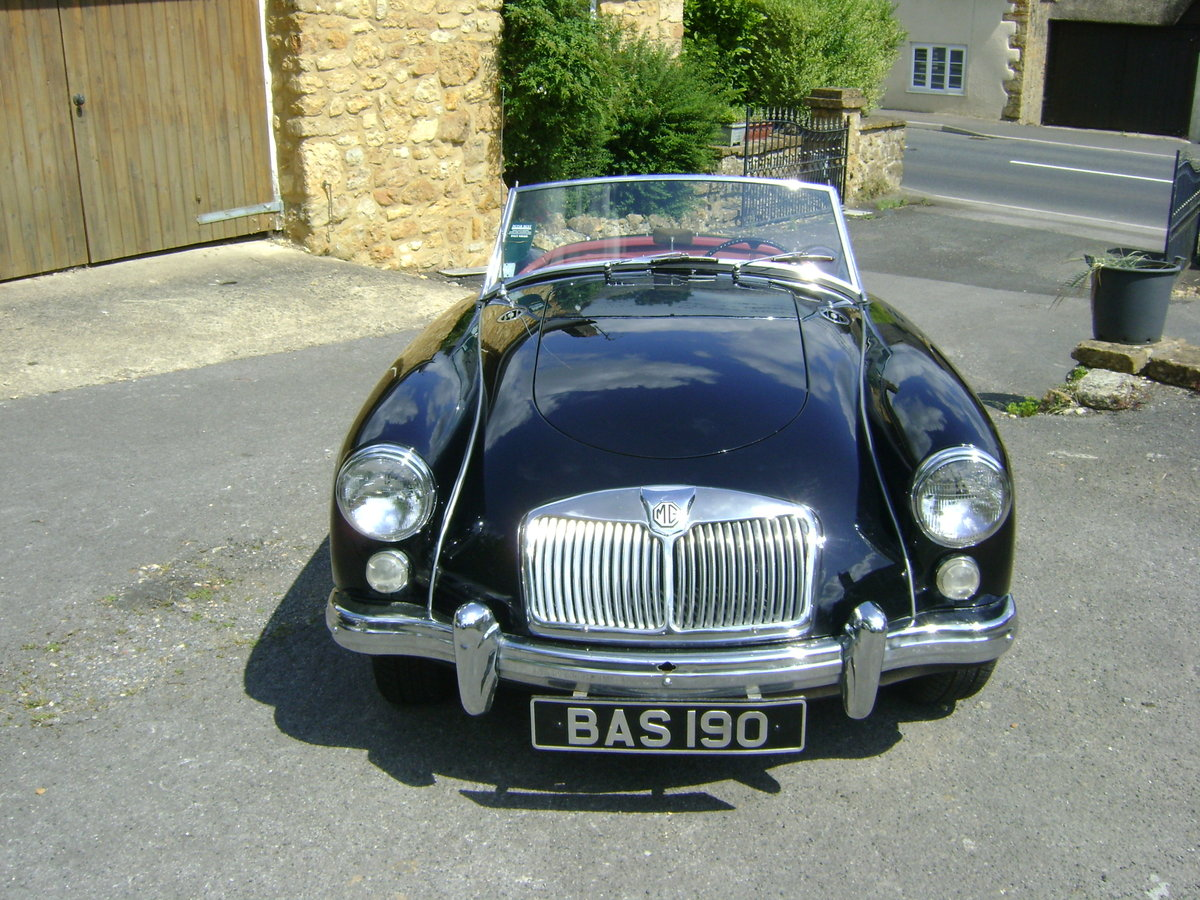 1959 MGA 1600 Mk.I Roadster LHD SOLD (picture 4 of 6)