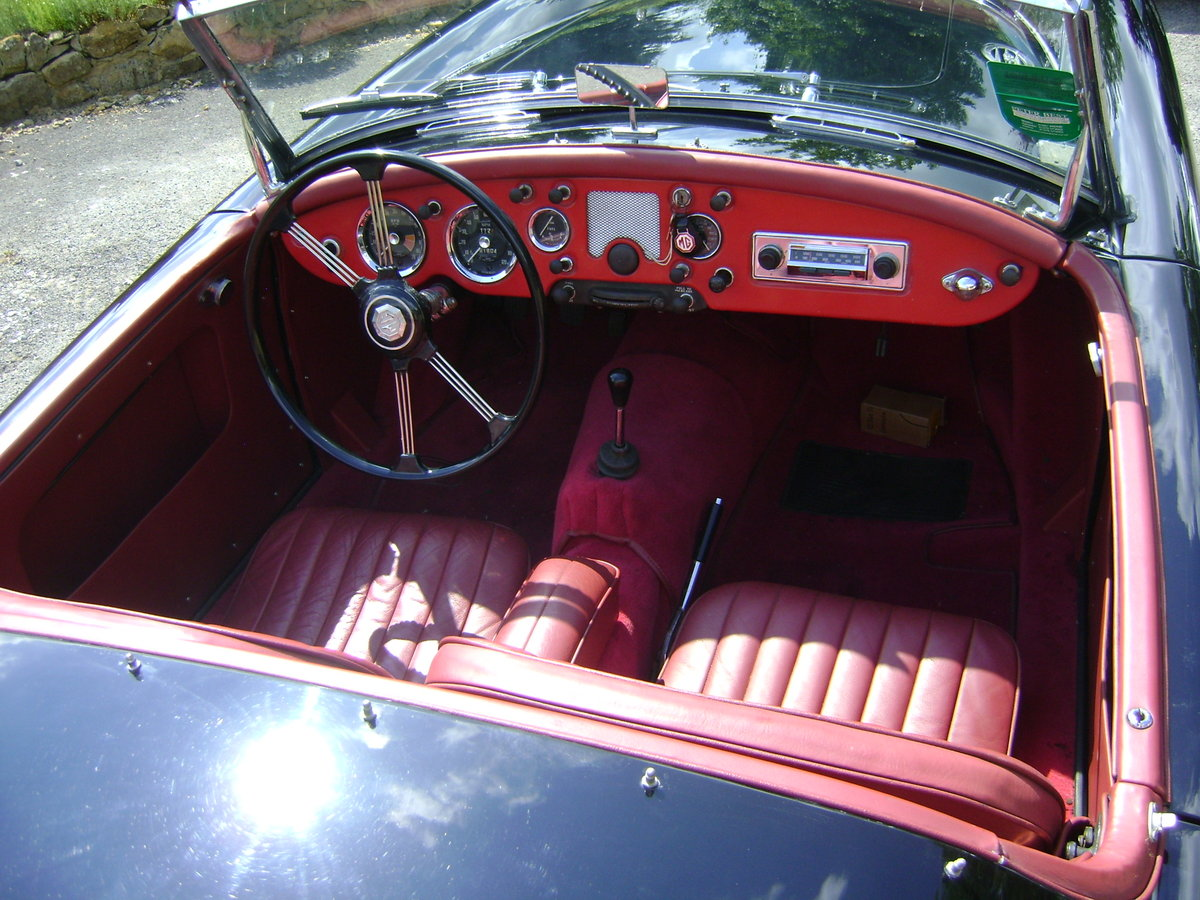1959 MGA 1600 Mk.I Roadster LHD SOLD (picture 5 of 6)