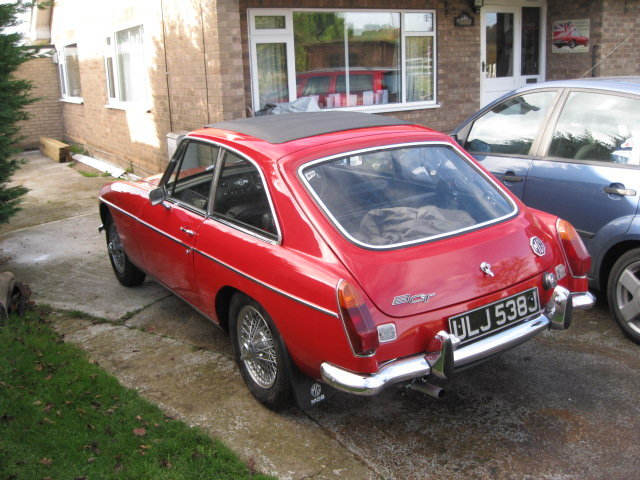 MGB GT 1970 For Sale (picture 2 of 6)