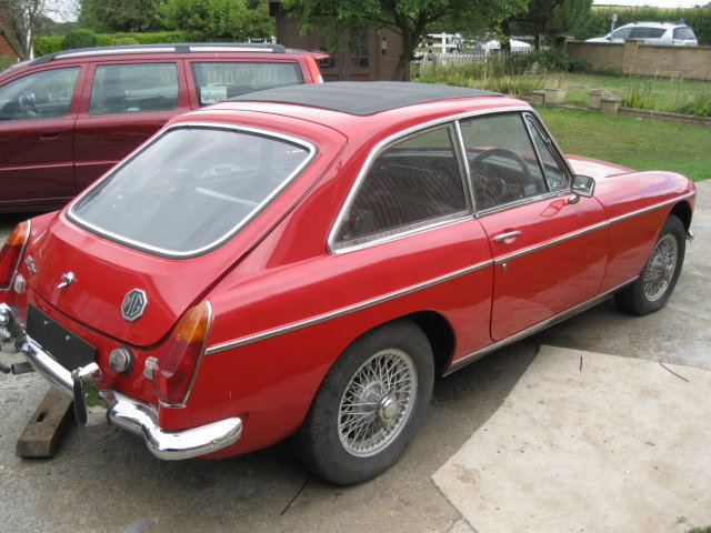 MGB GT 1970 For Sale (picture 6 of 6)