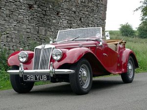 1955 MG TF 1500 For Sale by Auction