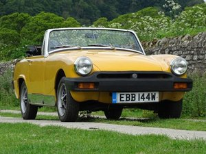1980 MG Midget 1500 For Sale by Auction