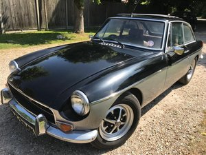 1971 MGB GT CHROME BUMPER, NEW MOT, NICE CONDITION For Sale