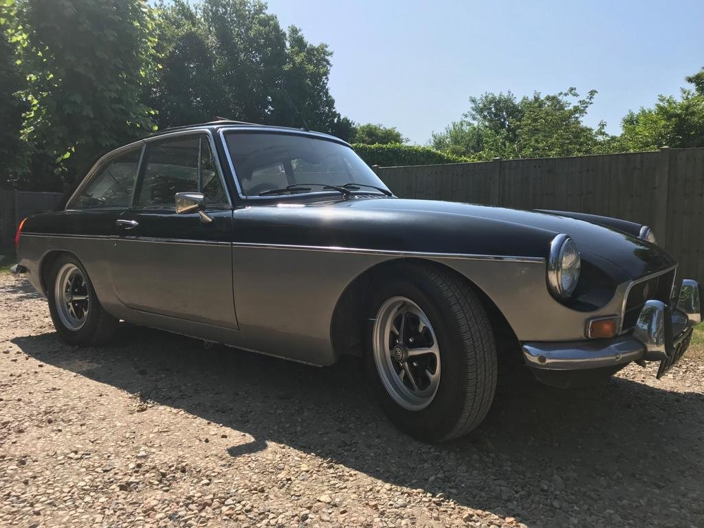 1971 MGB GT CHROME BUMPER, NEW MOT, NICE CONDITION For Sale (picture 4 of 6)