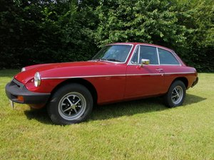 1978 MGB GT in CARMINE RED with OVERDRIVE