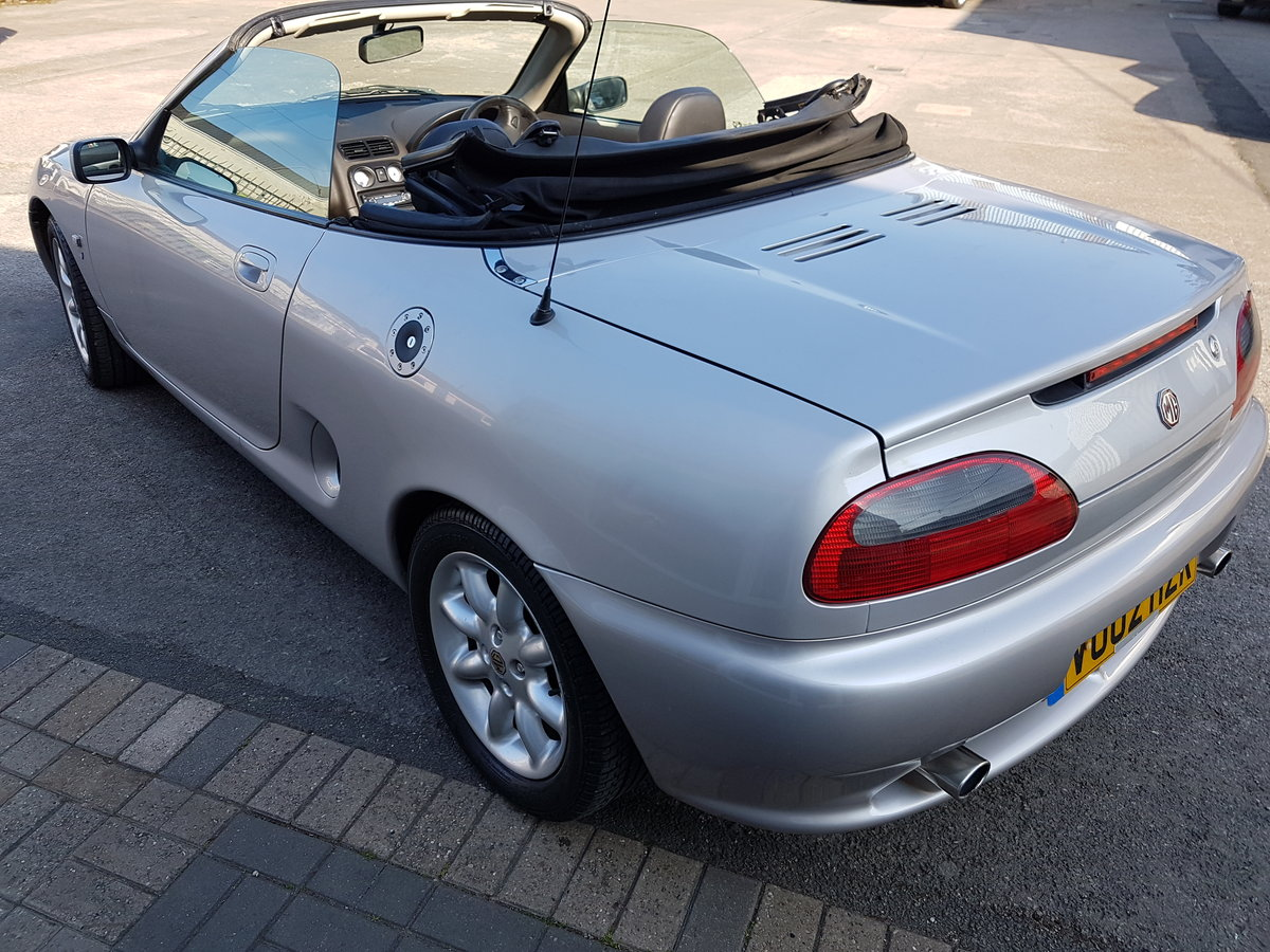 2002 excellent mgf SOLD (picture 6 of 6)
