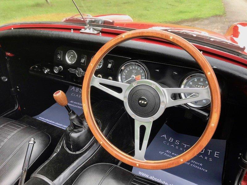 1972 '72 MG Midget RWA 1275cc - beautiful restored MkIII Round Wh SOLD (picture 3 of 6)