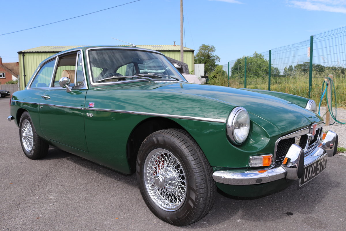 1973 MGB GT Factory built V8 SOLD (picture 1 of 6)