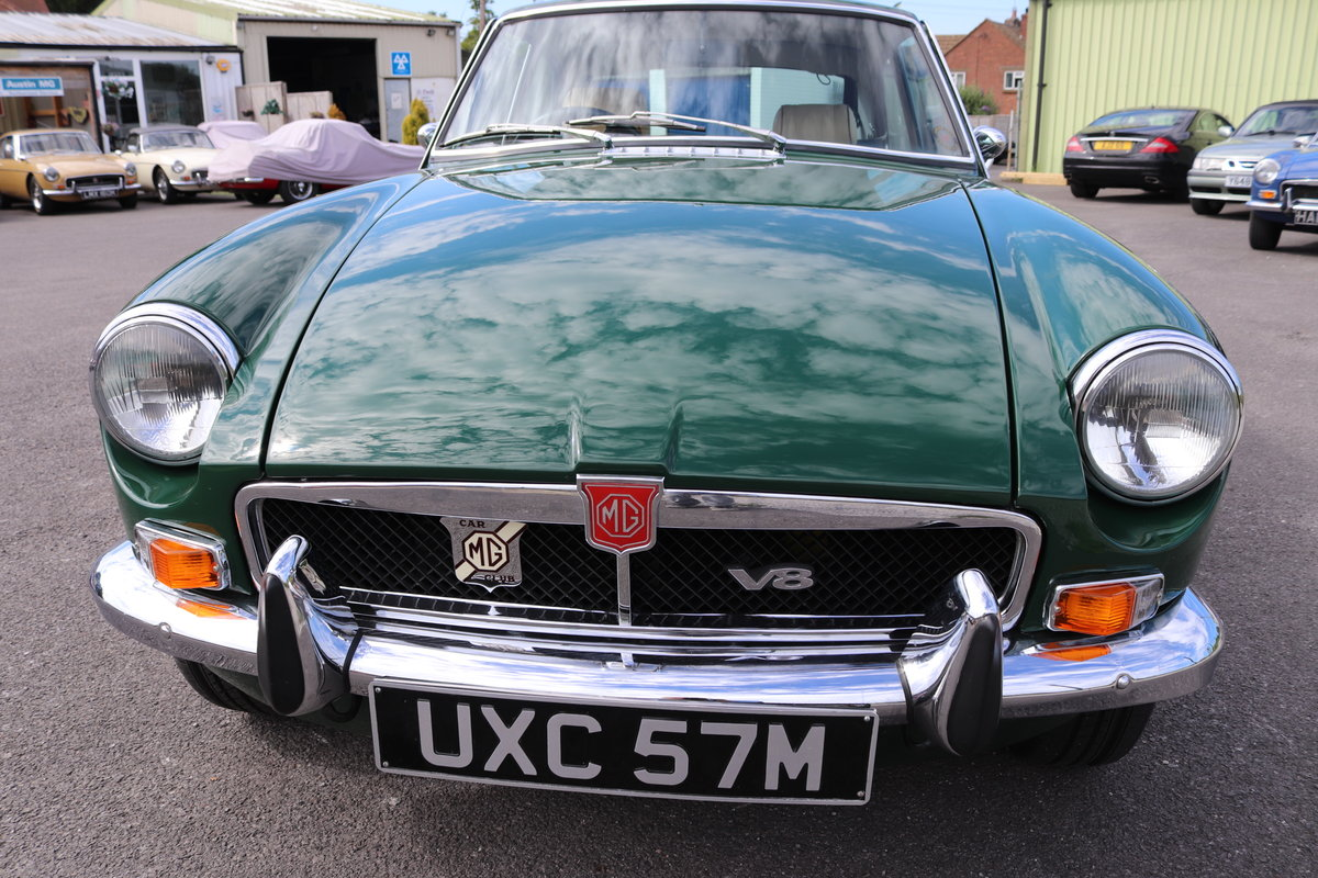 1973 MGB GT Factory built V8 SOLD (picture 4 of 6)