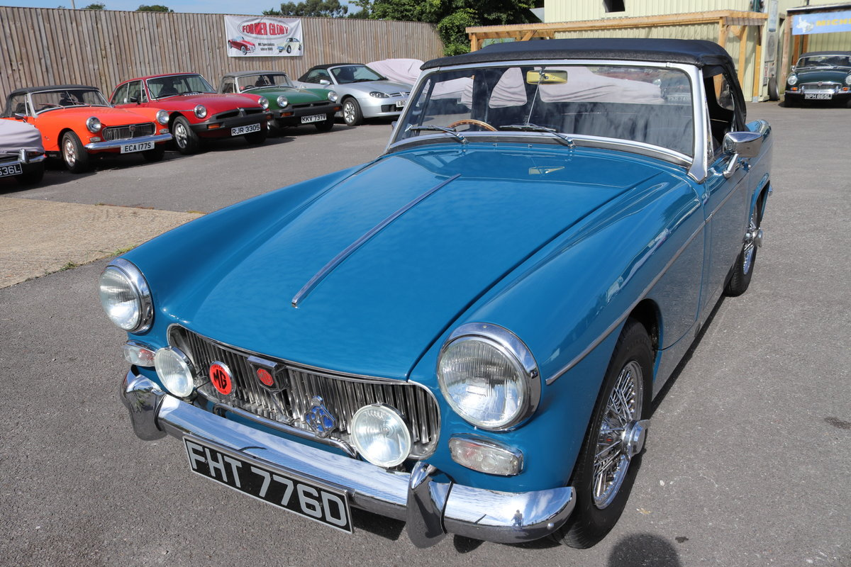 MG Midget 1966, 1275cc, 5-speed. For Sale (picture 1 of 6)