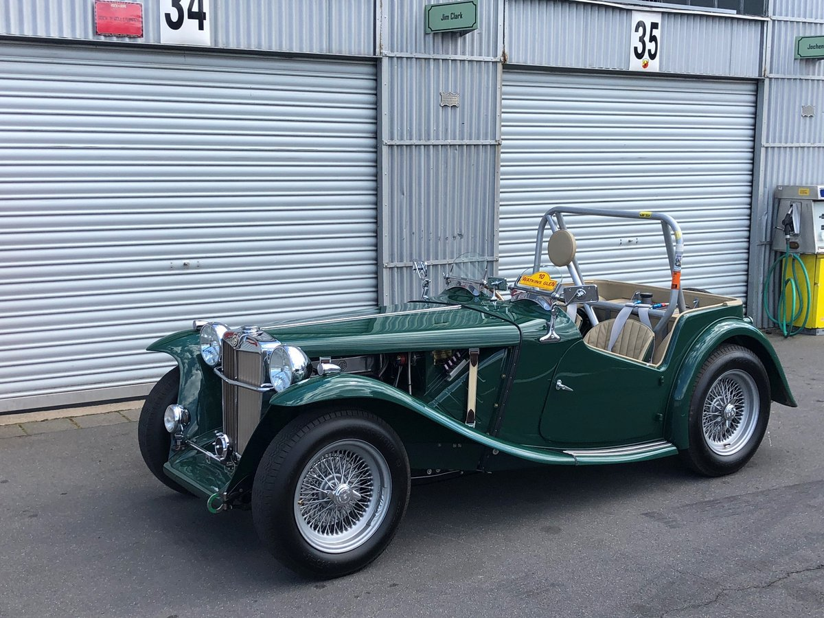 1949 MG TC SportsRacer SOLD by Auction (picture 1 of 6)
