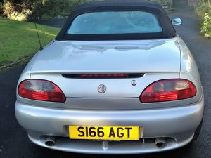 1998  MGF VVC Abingdon LE low miles For Sale