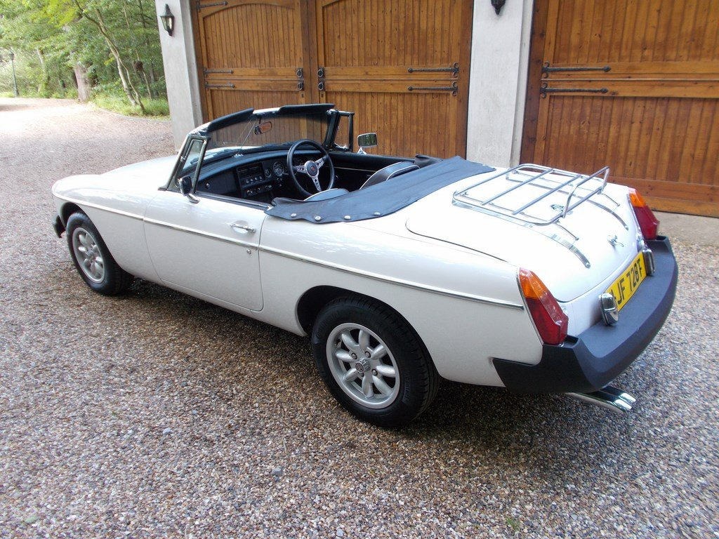 1979 MGB ROADSTER Heritage Shell Rebuild  For Sale (picture 2 of 6)