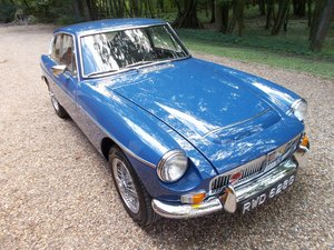 1968 MGC GT AUTOMATIC Older Nut & Bolt Restored