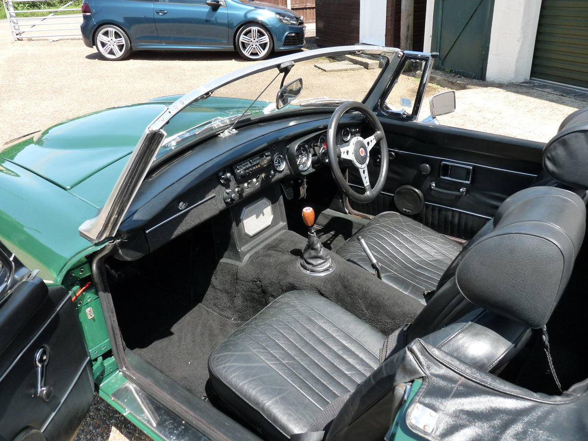 1970 MGB Costello V8, very special, SOLD For Sale (picture 3 of 6)