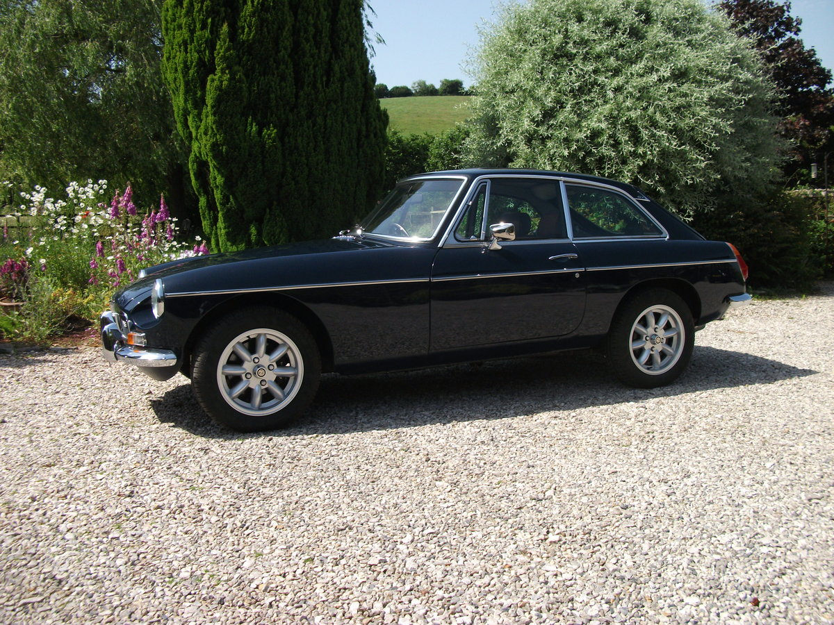 1969 MGB GTV8 Less than 2000miles since completion For Sale (picture 1 of 6)
