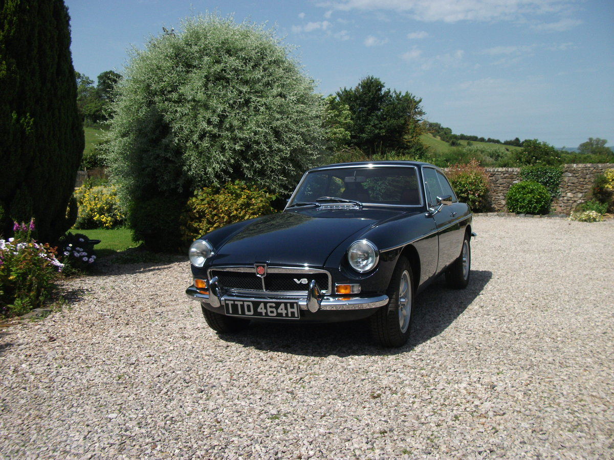 1969 MGB GTV8 Less than 2000miles since completion For Sale (picture 3 of 6)