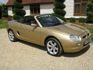 2000 MGF. RARE COLOUR. 1800 VVC MODEL. ONLY 54,000 MILES SOLD