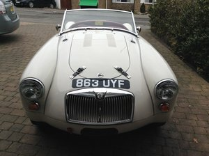 MGA Twin cam 1958 roadster For Sale