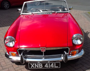 1971 MGB Roadster SOLD
