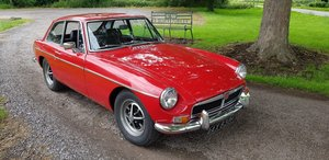 1971 Chrome Bumber MGB GT with full respray For Sale