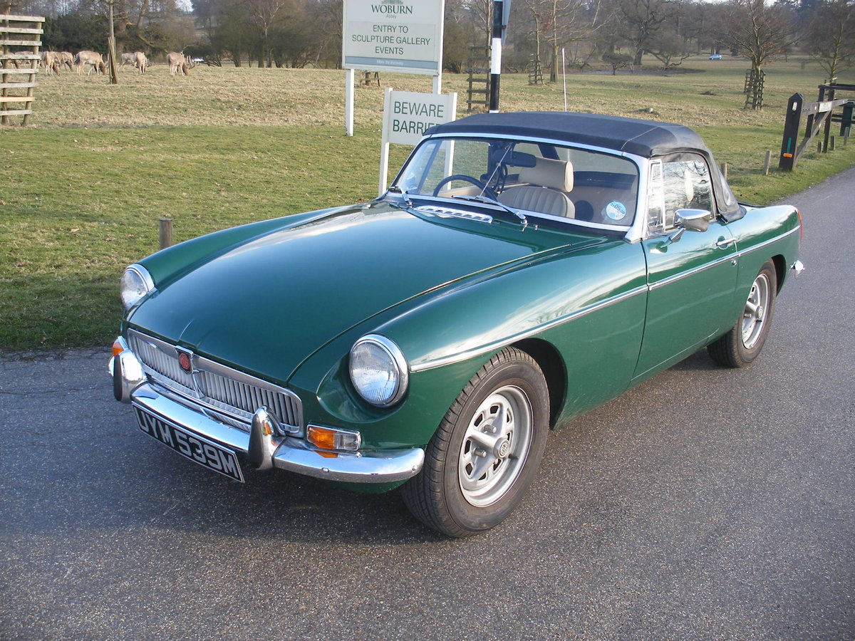 1974 MGB Roadster Heritage body For Sale (picture 1 of 6)