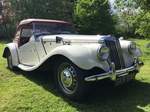 1954 Ex Police MG TF 1250 For Sale