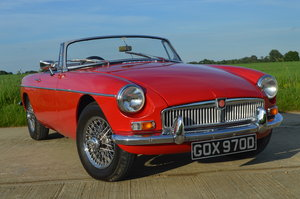 1966 Beautiful MGB Roadster For Sale