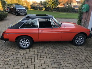 1981 MGB GT FOR SALE For Sale