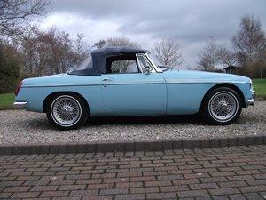 MG B Roadster Mk1, 1964, Iris Blue For Sale