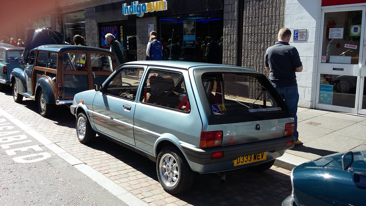 1987 MG Metro in great condition SOLD (picture 3 of 6)