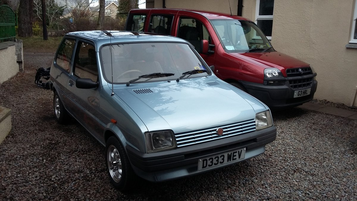 1987 MG Metro in great condition SOLD (picture 4 of 6)