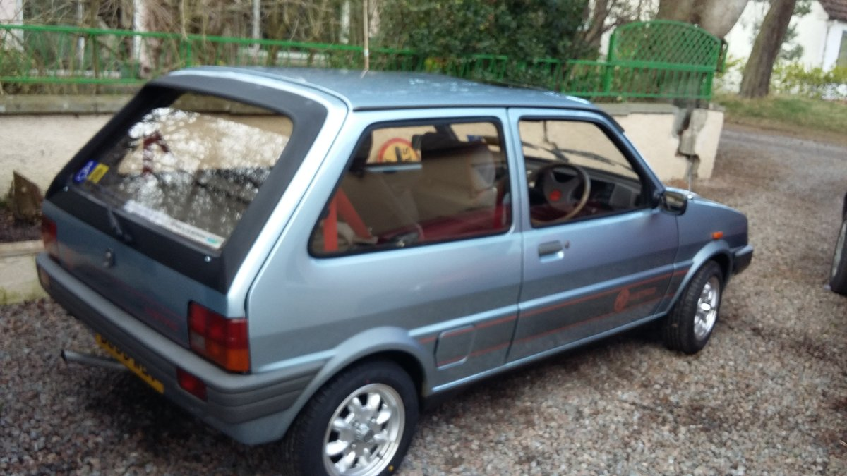 1987 MG Metro in great condition SOLD (picture 5 of 6)