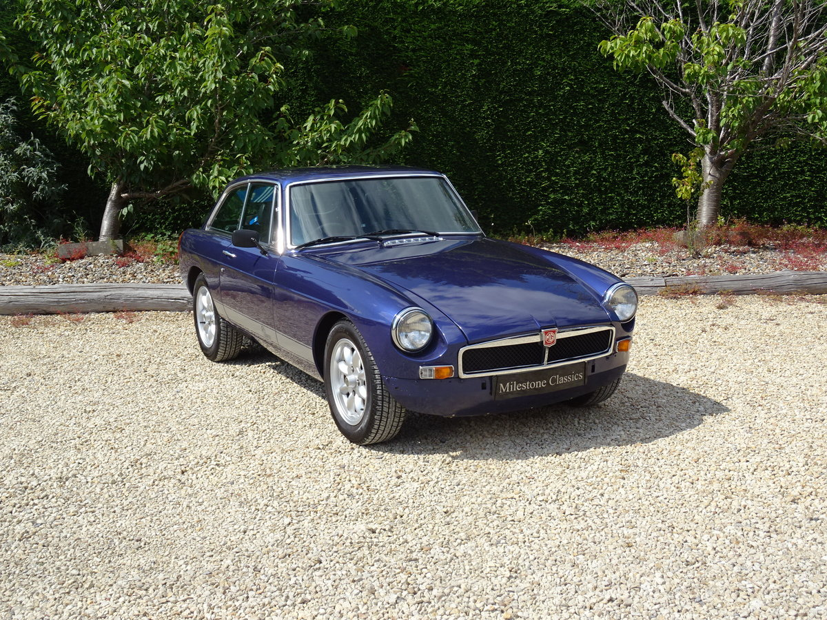 MGB GT – K Series/5 Speed/Power Steering For Sale (picture 2 of 6)