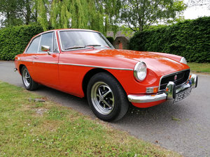 1972 MGB GT - Only 21,000 miles - on The Market For Sale by Auction