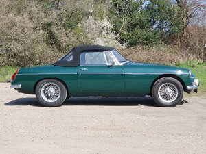 MG B Roadster, 1972, BRG, LHD For Sale