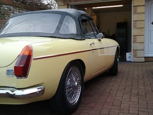 1971 mgb roadster Heritage shell  For Sale