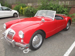 1957 MGA Mk.1 Roadster. RHD UK car. For Sale
