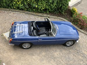 1968 MGB Roadster beautiful 68 mineral blue heritage For Sale