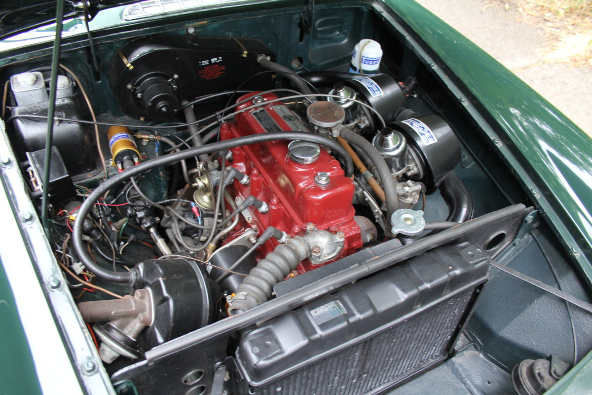 1964 MGB Roadster - Pull handle, Overdrive, Wires For Sale (picture 11 of 12)